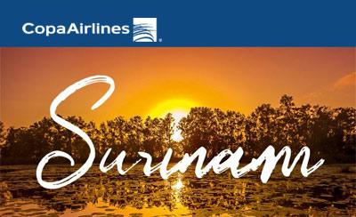 Copa Airlines - Nouveaux vols vers le Suriname