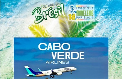 Cabo verde Airlines sponsor officiel du Lavage de la Madeleine
