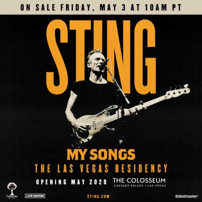 Caesars Ent. and the Colosseum present : Sting !