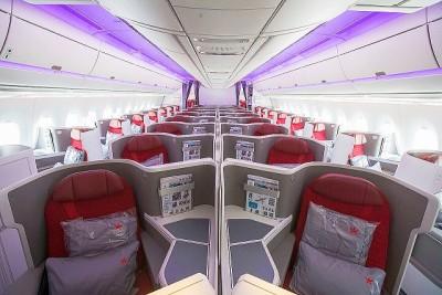 HongKong Airlines présente sa nouvelle cabine Business à bord de l'Airbus A350